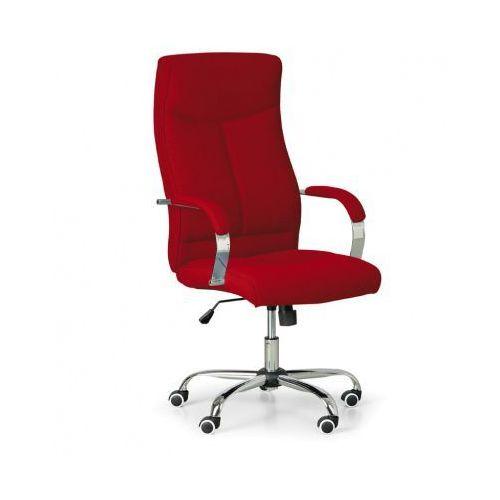 Fotel biurowy Lugo Tex, czerwony, B2B Partner z B2B Partner