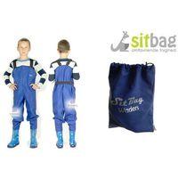 Wodery Spodniobuty Kalosze dla dzieci Sitbag - niebieski ||dł stopy: 14,2cm ( rozmiar 20-21)