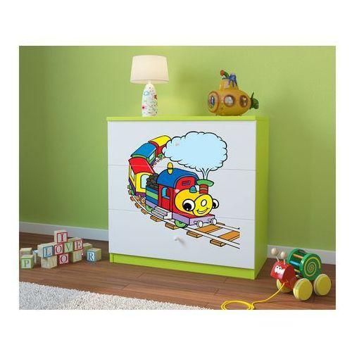Kocot-meble Komoda dziecięca  babydreams lokomotywa kolory negocjuj cenę
