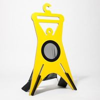 Wieszak stojący TONDA 94,9 cm, żółty