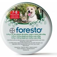 BAYER Foresto Obroża dla kotów i psów poniżej 8kg, kup u jednego z partnerów
