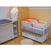 Łóżeczko niemowlęce z wyposażeniem - zestaw 8 marki Krajowy