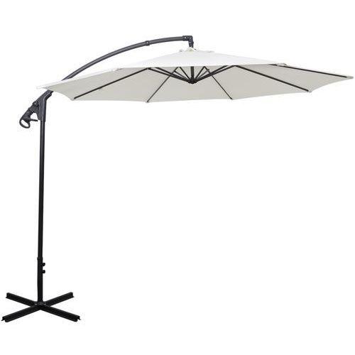 Gdzie kupić Vidaxl  parasol ogrodowy na wysięgniku bocznym, biały piasek, 3 m (8718475970620)