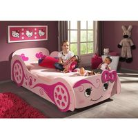 Łóżko dla dziewczynki pinky marki Vipack