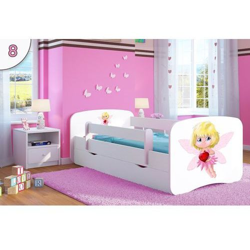 Łóżko dziecięce  babydreams motylek, kolory negocjuj cenę marki Kocot-meble