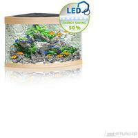 trigon 190 led akwarium narożne o pojemności 190l z wyposażeniem/ buk marki Juwel