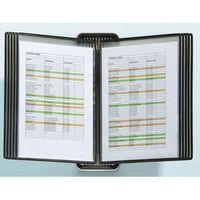 Tarifold System przezroczystych tablic veo do formatu din a4, system ścienny, uchwyt i 10