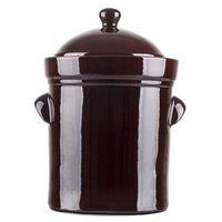 BOLESŁAWIEC Garnek ceramiczny, beczka 25 L z pokrywą 1925