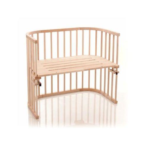 TOBI Babybay Maxi Łóżeczko dostawne EKO surowe drewno bukowe
