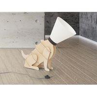 Beliani Lampa stojąca biała - podłogowa - oświetlenie - isna
