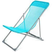 Happy green  krzesło plażowe caribic, niebieskie (8591022382837)