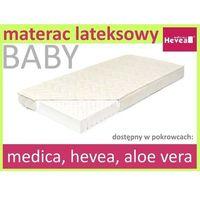 Hevea Materac lateksowy baby 140/70 aloe vera