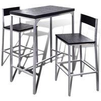 vidaXL Wysoki stolik kuchenny + krzesła (8718475902898)