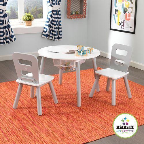 Śnieżynka - stolik dla dzieci i dwa krzesełka, KidKraft - meble do pokoju dziecięcego