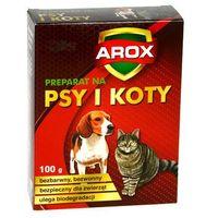 Środek odstraszający koty i psy. Preparat na koty i psy. AROX.