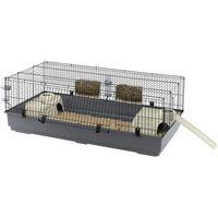 Ferplast Rabbit 140 klatka dla królika z wyposażeniem