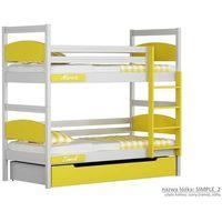 Łóżko piętrowe simple marki Vossti