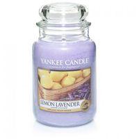 Yankee candle  świeca zapachowa - duża - lemon lavender