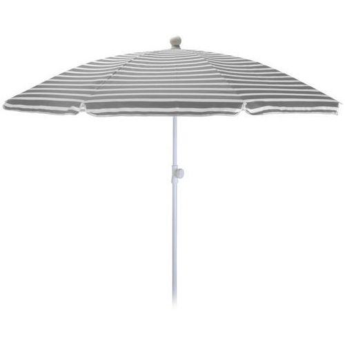 Parasol ogrodowy 180cm SZARO-BIAŁY - szaro-białe - sprawdź w wybranym sklepie