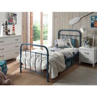 Metalowe łóżko new york nybe9007 dla dziecka marki Vipack