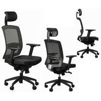 SitPlus Fotel ergonomiczny ERGON, podparcie lędźwiowe, SitPlus