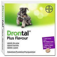Bayer  drontal flavour plus tabletki na pasożyty dla psów do 10kg 2tabl/op.