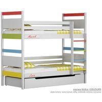 Łóżko piętrowe Colours