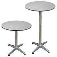 Stolik regulowany stół aluminium bistro bar ogród marki Wideshop
