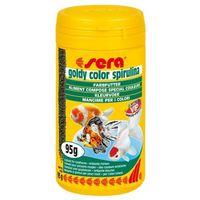 Sera  goldy color spirulina - pokarm dla złotych rybek wybarwiający ze spiruliną