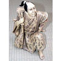 Figurka Samuraja - imitacja kości słoniowej (GAP56348) od hobby.biz.pl