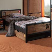 Łóżko dla dzieci Alex - sosna