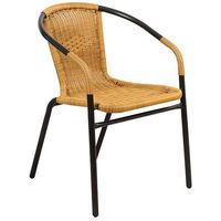 Krzesło ogrodowe technorattanowe Summer black/honey Home&Garden 184720
