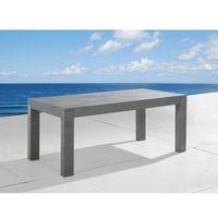 Beliani Stół betonowy 180cm – stół ogrodowy – stół betonowy - taranto