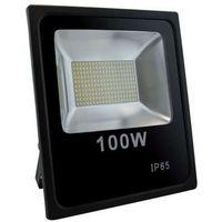 Zewnętrzny projektor OLIMP LED 100W 02930 Ideus ścienna OPRAWA naświetlacz KINKIET do ogrodu outdoor IP65 czarny