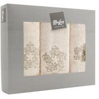 Komplet ręczników ornament - 3 el. marki Miss lucy