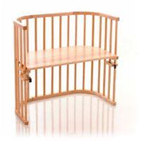Tobi babybay  original łóżeczko dostawne z drewna bukowego natura