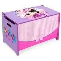 Drewniana skrzynia na zabawki Minnie Mouse, Kocot-Meble