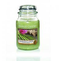 Yankee Candle Świeca Zapachowa - Duża - Lemongrass & Ginger, YSDLG