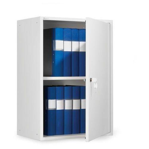 Biała szafka na segregatory o wys.780mm, 103711