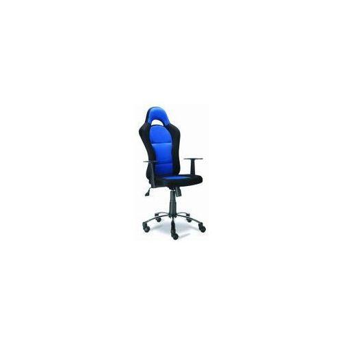 Fotel biurowy QZY-1109C niebieski, kup u jednego z partnerów