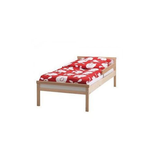 SNIGLAR ŁÓŻKO Rama łóżka z dnem z listew, buk
