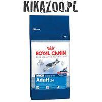 Royal canin Karma  dog food maxi adult 15kg + dolina noteci piper z sercami z kurcz i ryżem 400g 3182550401937 - odbiór w 2000 punktach - salony, paczkomaty, stacje orlen (3182550401937)