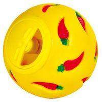 zabawka snacky ball piłka na przysmaki dla królika 7cm marki Trixie