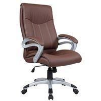 Fotel biurowy Q-012 brąz