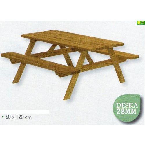 Drewniany stolik dziecięcy 60 x 120