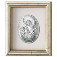 Obrazek Anioł Stróż z latarenką w ramce za szkłem - (v#797)