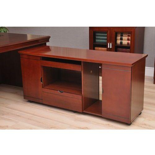 Zestaw biurowy PRESTIGE 2,2 m biurko + pomocnik (stolik, biurko biurowe)