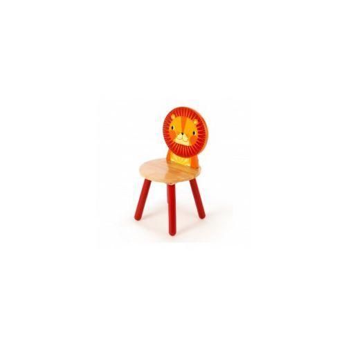 Krzesełko dziecięce LEW z drewna, 1D2F-94238