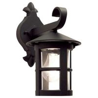 Elstead Zewnętrzna lampa ścienna hereford bl21  klasyczny kinkiet metalowa oprawa ogrodowa ip43 outdoor czarna