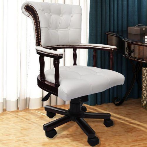 vidaXL Krzesło biurowe Fotel kapitański Chesterfield z kategorii Krzesła i fotele biurowe